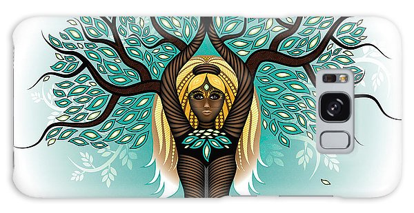 Lady Shaman Tree Galaxy Case