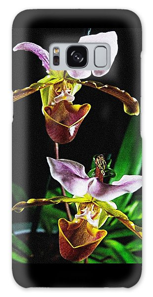 Lady Slipper Orchid Galaxy Case