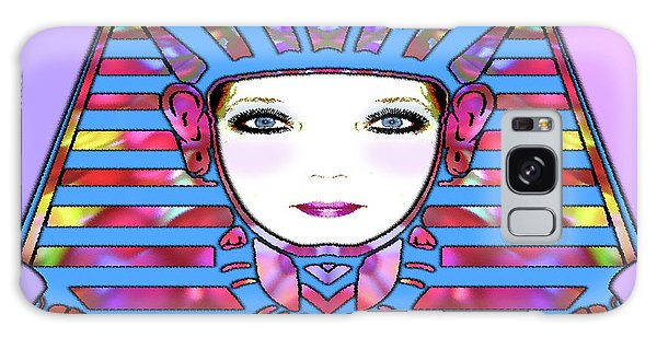Galaxy Case featuring the photograph Lady Tut #191 by Barbara Tristan