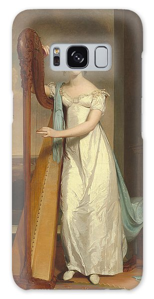 Lady With A Harp Galaxy Case