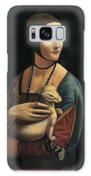 Lady With Ermine - Pastel Galaxy Case