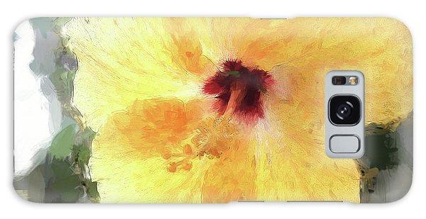 Lady Yellow Galaxy Case