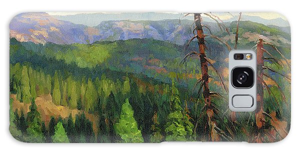 Horizontal Galaxy Case - Ladycamp by Steve Henderson