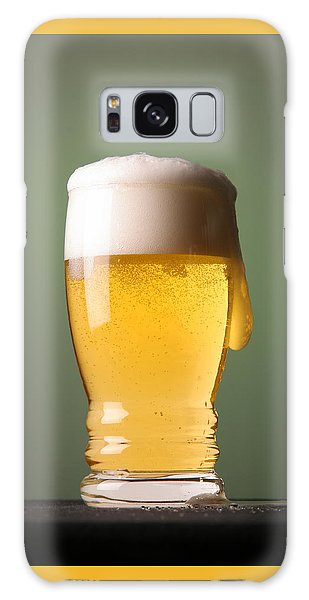 Lager Beer Galaxy Case by Silvia Bruno