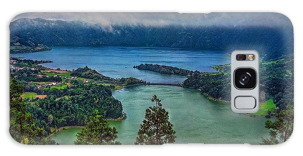 Lagoa Verde E Lagoa Azul Galaxy Case