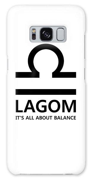 Lagom - Balance Galaxy Case