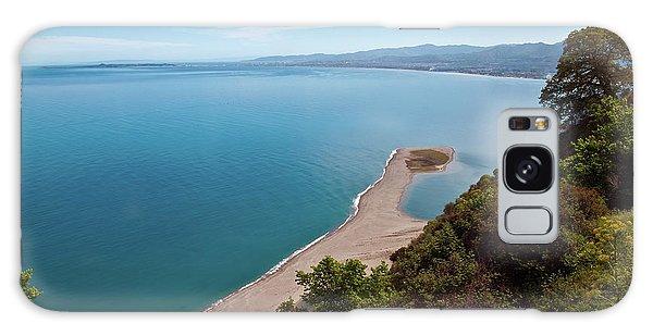 Lagoon Of Tindari On The Isle Of Sicily  Galaxy Case