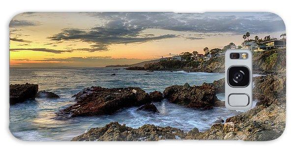 Laguna Beach Coastline Galaxy Case by Eddie Yerkish