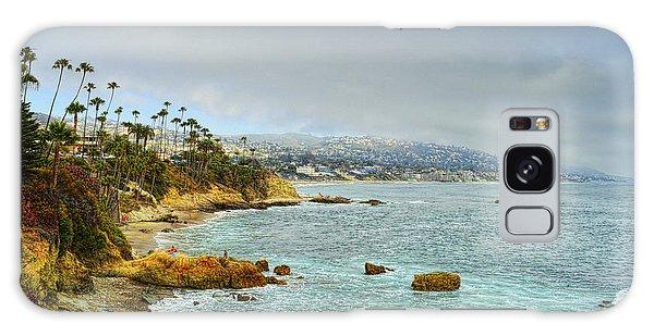 Laguna Beach Coastline Galaxy Case