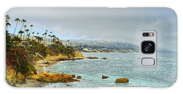 Laguna Beach Coastline Galaxy Case by Glenn McCarthy Art and Photography
