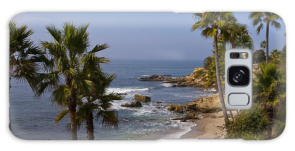 Laguna Beach Coastline Galaxy Case