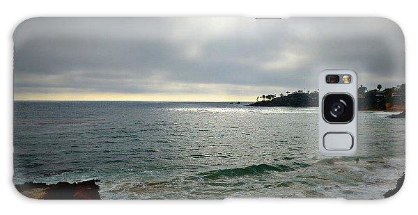 Laguna Beach Sunset Galaxy Case