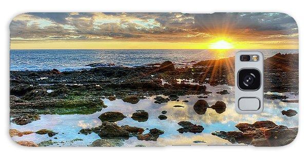 Laguna Beach Tidepools Galaxy Case by Eddie Yerkish