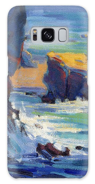 Laguna Rocks Galaxy Case
