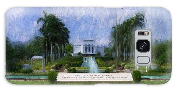 Laie Hawaii Temple Galaxy Case
