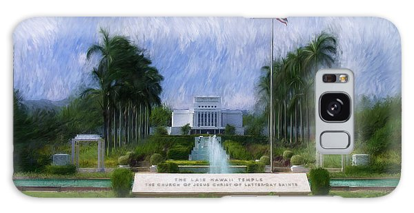 Laie Hawaii Temple Galaxy Case