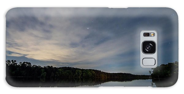 Lake At Night Galaxy Case