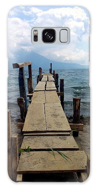 Lake Atitlan Dock Galaxy Case