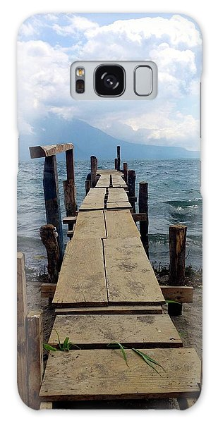 Lake Atitlan Dock Galaxy Case