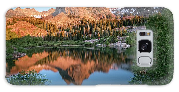 Lake Blanche At Sunset Galaxy Case