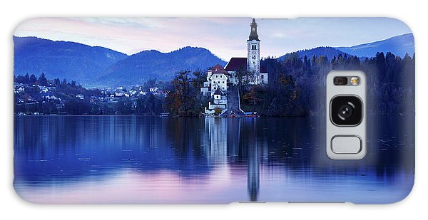 Lake Bled And The Island Church Galaxy Case