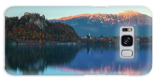 Lake Bled Panorama Galaxy Case