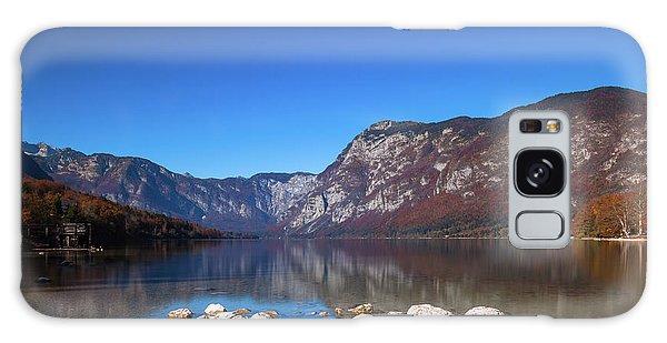 Galaxy Case featuring the photograph Lake Bohinj by Davor Zerjav