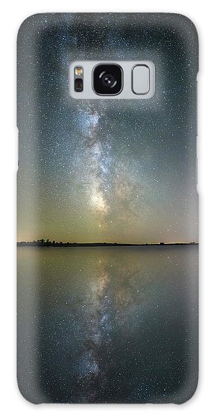 Galaxy Case featuring the photograph Lake Cavour by Aaron J Groen