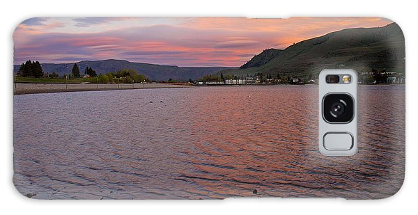 Lake Chelan Sunset Galaxy Case
