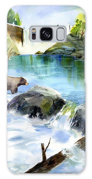 Lake Clementine Falls Bear Galaxy Case
