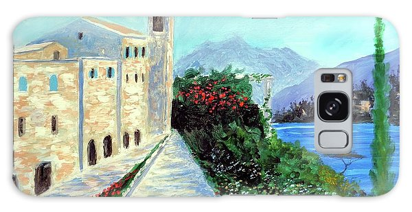 Lake Como Colors  Galaxy Case by Larry Cirigliano