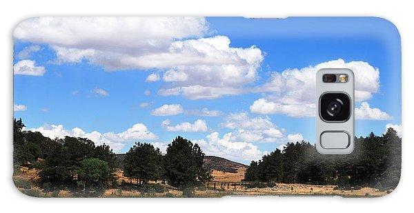 Lake Cuyamac Landscape And Clouds Galaxy Case