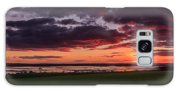 Lake Dumbleyung Sunset Galaxy Case