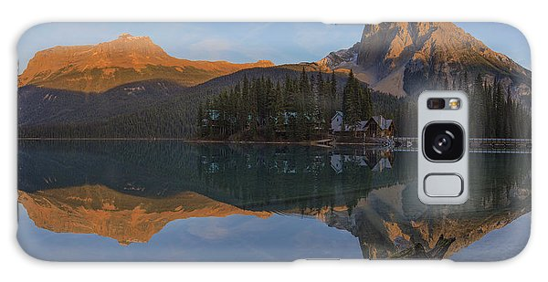 Lake Emerald Lodge Galaxy Case