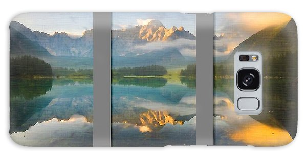 Lake Fusine In Triptych Galaxy Case