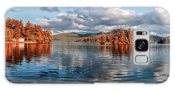 Lake George Panorama  Galaxy Case