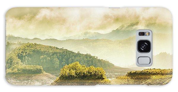 Shrub Galaxy Case - Lake Gordon Landscape by Jorgo Photography - Wall Art Gallery