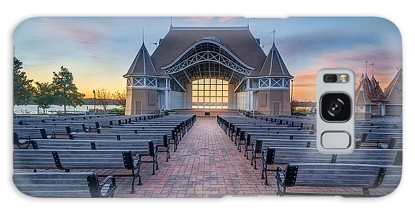 Lake Harriet Bandshell Galaxy Case