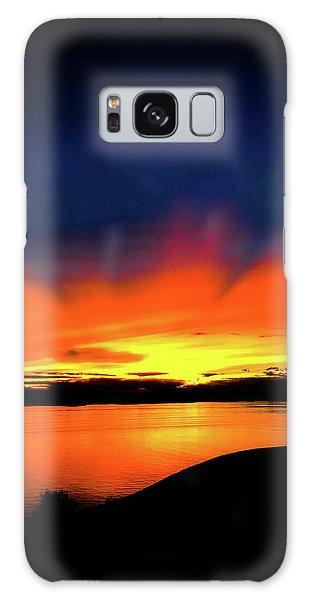Lake Havasu Sunset Galaxy Case
