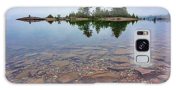 Lake Huron Island Galaxy Case
