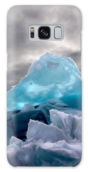 Lake Ice Berg Galaxy Case