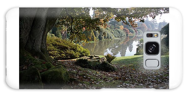 Galaxy Case featuring the digital art Lake In The Park by Julian Perry