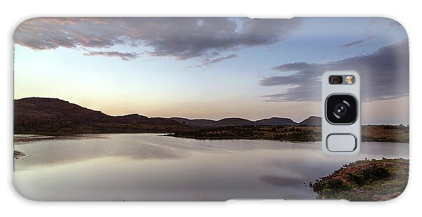 Lake In The Wichita Mountains  Galaxy Case