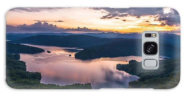 Lake Jocassee Sunset Galaxy Case