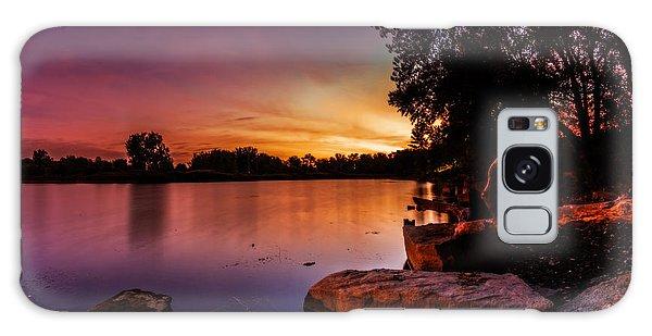 Lake Kirsty Twilight Galaxy Case by Chris Bordeleau