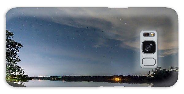 Lake Lights At Night Galaxy Case