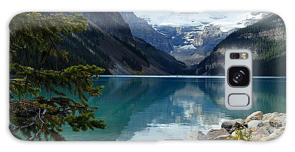 Mountain Galaxy Case - Lake Louise 2 by Larry Ricker