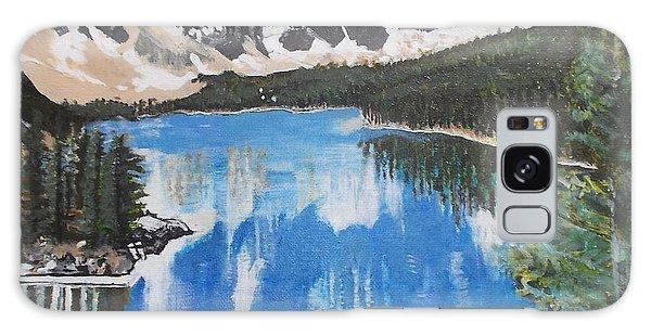Lake Louise  Galaxy Case by Francine Heykoop