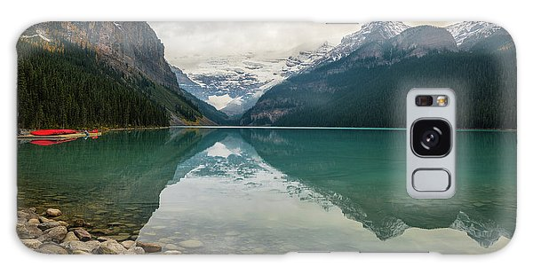 Lake Louise In The Fall Galaxy Case