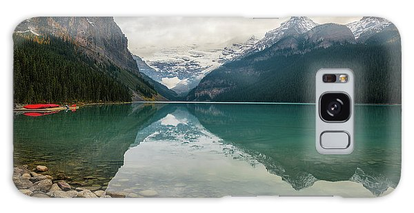 Lake Louise In The Fall Galaxy Case